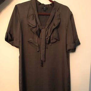 Gap front tie dress